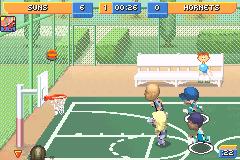 Screenshot Thumbnail / Media File 9 For Backyard Sports Basketball 2007  (U)(Rising
