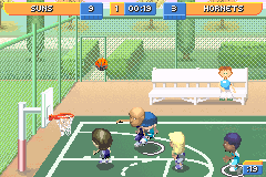 Screenshot Thumbnail / Media File 3 For Backyard Sports Basketball 2007  (U)(Rising