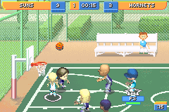 Perfect Screenshot Thumbnail / Media File 7 For Backyard Sports Basketball 2007  (U)(Rising