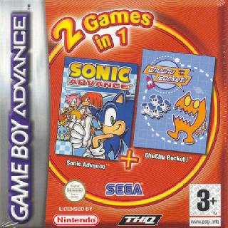 Screenshot Thumbnail / Media File 1 for 2 in 1 - Sonic Advance & Chu Chu Rocket (E)(Independent)