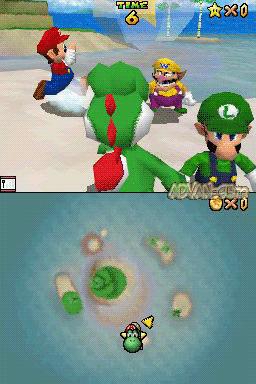 Super Mario 64 DS (v01) (U)(Trashman) ROM < NDS ROMs
