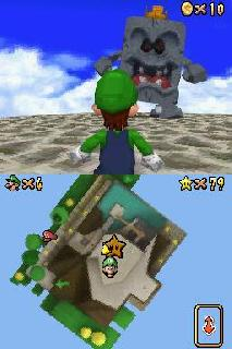 Screenshot Thumbnail / Media File 1 for Super Mario 64 DS (v01) (U)(Trashman)