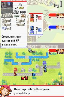 Screenshot Thumbnail / Media File 1 for Advance Wars - Dual Strike (U)(Lube)