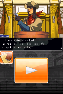 Screenshot Thumbnail / Media File 1 for Phoenix Wright - Ace Attorney (U)(Legacy)