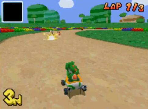 Mario Kart DS (U)(SCZ) ROM < NDS ROMs   Emuparadise