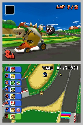 mario kart ds nds rom cool