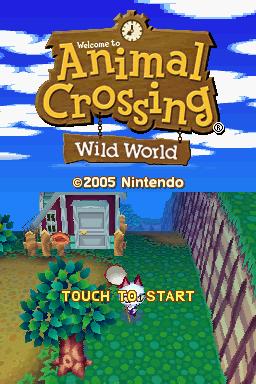 animal crossing wild world emulator
