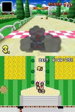 Mario Kart DS (K)(Independent) ROM < NDS ROMs | Emuparadise