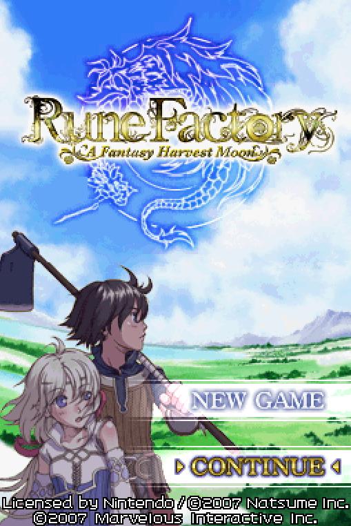 Rune Factory - A Fantasy Harvest Moon (U)(XenoPhobia) ROM