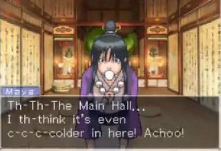 Screenshot Thumbnail / Media File 1 for Phoenix Wright - Ace Attorney - Trials and Tribulations (U)(XenoPhobia)