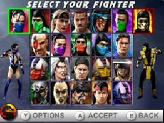 Screenshot Thumbnail / Media File 1 for Ultimate Mortal Kombat (U)(XenoPhobia)