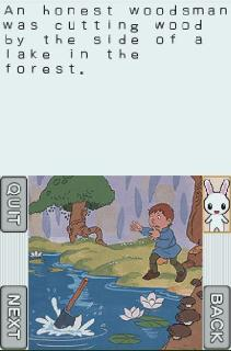 Screenshot Thumbnail / Media File 1 for Interactive Storybook DS - Series 3 (U)(Sir VG)