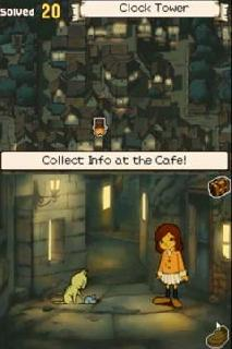 Screenshot Thumbnail / Media File 1 for Professor Layton and the Curious Village (U)(Micronauts)