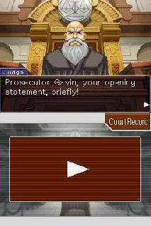 Screenshot Thumbnail / Media File 1 for Apollo Justice - Ace Attorney (U)(Independent)