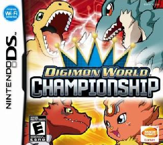 Screenshot Thumbnail / Media File 1 for Digimon World Championship (U)(XenoPhobia)