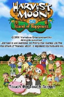 Screenshot Thumbnail / Media File 1 for Harvest Moon DS - Island of Happiness (U)(JunkRat)