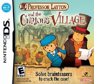 Screenshot Thumbnail / Media File 1 for Professor Layton and the Curious Village (E)(EXiMiUS)