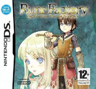 Screenshot Thumbnail / Media File 1 for Rune Factory - A Fantasy Harvest Moon (EU)(M5)(XenoPhobia)