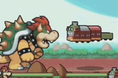 mario and luigi bowsers inside story rom slow