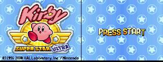 Screenshot Thumbnail / Media File 1 for Kirby Super Star Ultra (EU)(M5)(BAHAMUT)