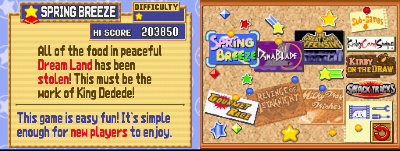 Screenshot Thumbnail / Media File 3 for Kirby Super Star Ultra (EU)(M5