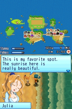 harvest moon ds games