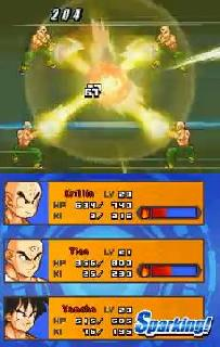 Screenshot Thumbnail / Media File 1 for Dragon Ball Z - Attack of the Saiyans (US)(M2)(BAHAMUT)