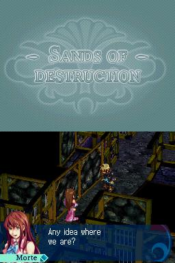 Sands of Destruction (US)(XenoPhobia) ROM < NDS ROMs