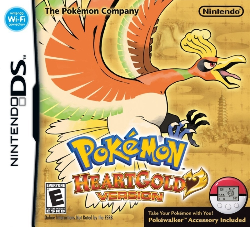 Nintendo Ds Pokemon Games : Pokemon heartgold version u rom