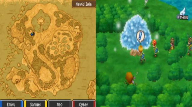 Dragon Quest IX - Sentinels of the Starry Skies (U) ROM ...