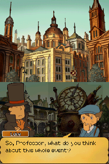 Screenshot Thumbnail / Media File 1 for Professor Layton and the Unwound Future (U)