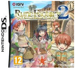Screenshot Thumbnail / Media File 1 for Rune Factory 2 - A Fantasy Harvest Moon (E)