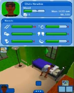 Screenshot Thumbnail / Media File 1 for Sims 3, The (DSi Enhanced) (E)