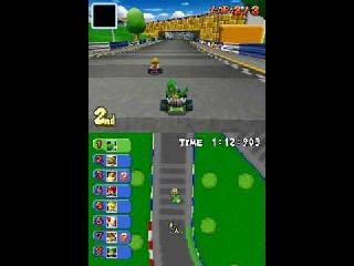 Screenshot Thumbnail / Media File 1 for mario kart ds (kiosk demo) (u)(trashman)