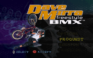 Screenshot Thumbnail / Media File 1 for Dave Mirra Freestyle BMX (United Kingdom)