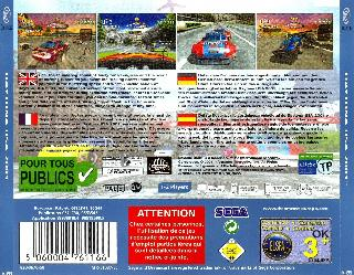 Screenshot Thumbnail / Media File 1 for Daytona USA 2001 (Europe)(En,Fr,De,Es)