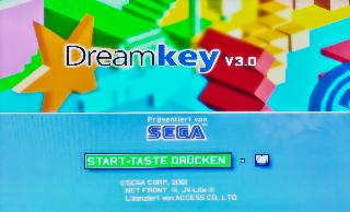 Screenshot Thumbnail / Media File 1 for Dreamkey 3 (PAL)