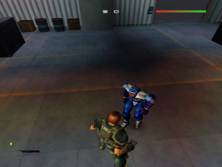 Screenshot Thumbnail / Media File 1 for Fighting Force 2 (Europe)(En,Fr)
