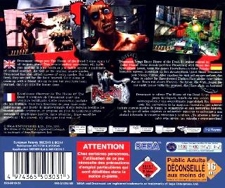 Screenshot Thumbnail / Media File 1 for House of the Dead 2, The (Europe)(En,Fr,De,Es)