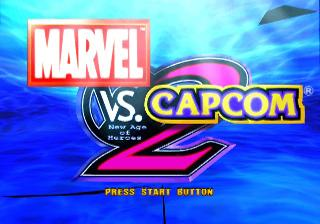 Screenshot Thumbnail / Media File 1 for Marvel vs. Capcom 2 - New Age of Heroes (United Kingdom)