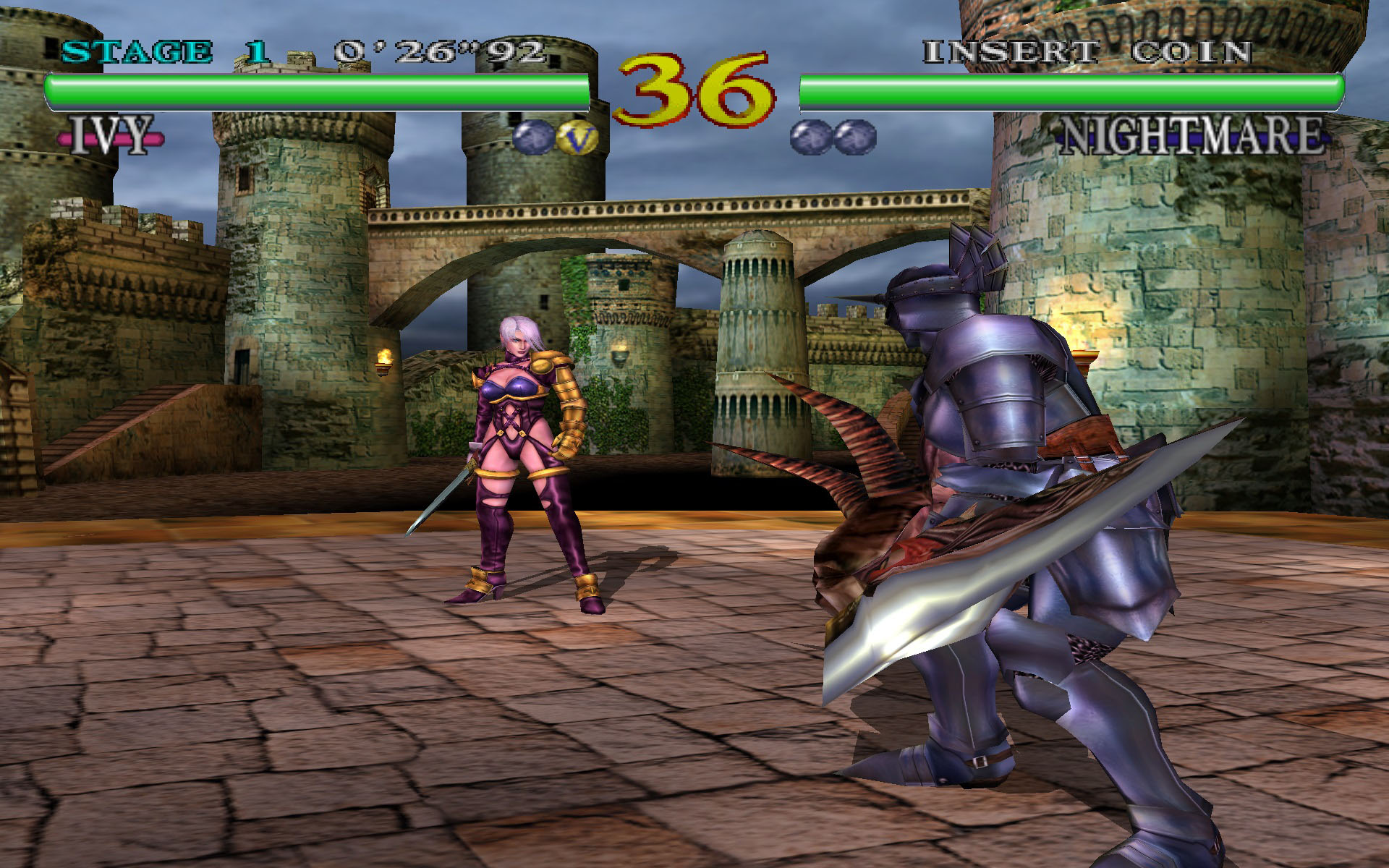 Soul Calibur (Europe)(En,Fr,De,Es) ISO < DC ISOs | Emuparadise