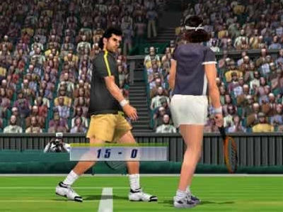 Virtua tennis 2009 review for nintendo wii.