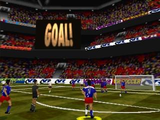 Screenshot Thumbnail / Media File 1 for Actua Soccer (E) (v1.1)