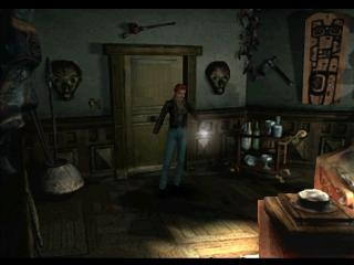 Screenshot Thumbnail / Media File 1 for Alone in the Dark - The New Nightmare (G) (Disc 1)
