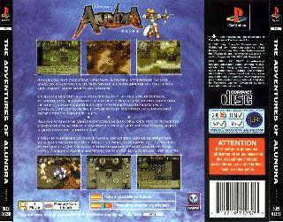 Screenshot Thumbnail / Media File 1 for Alundra (S)