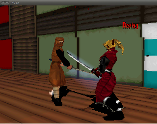 Screenshot Thumbnail / Media File 1 for Bushido Blade (E)