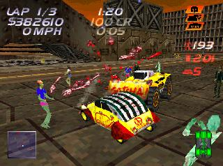 Screenshot Thumbnail / Media File 1 for Carmageddon (E)