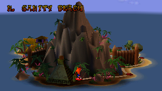 Screenshot Thumbnail / Media File 1 for Crash Bandicoot (E) (No EDC)