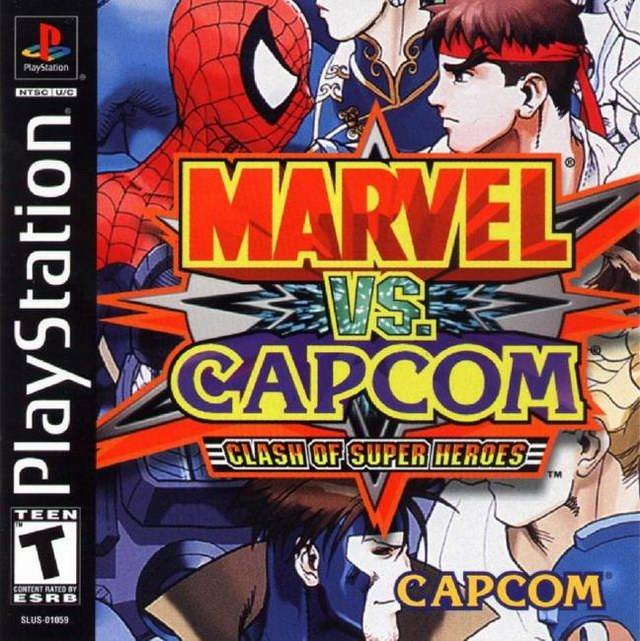 Marvel Super Heroes vs. Street Fighter (E) ISO