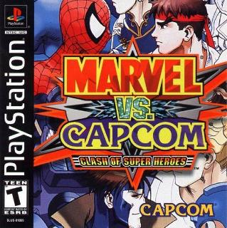 Screenshot Thumbnail / Media File 1 for Marvel vs. Capcom - Clash of Super Heroes (E)